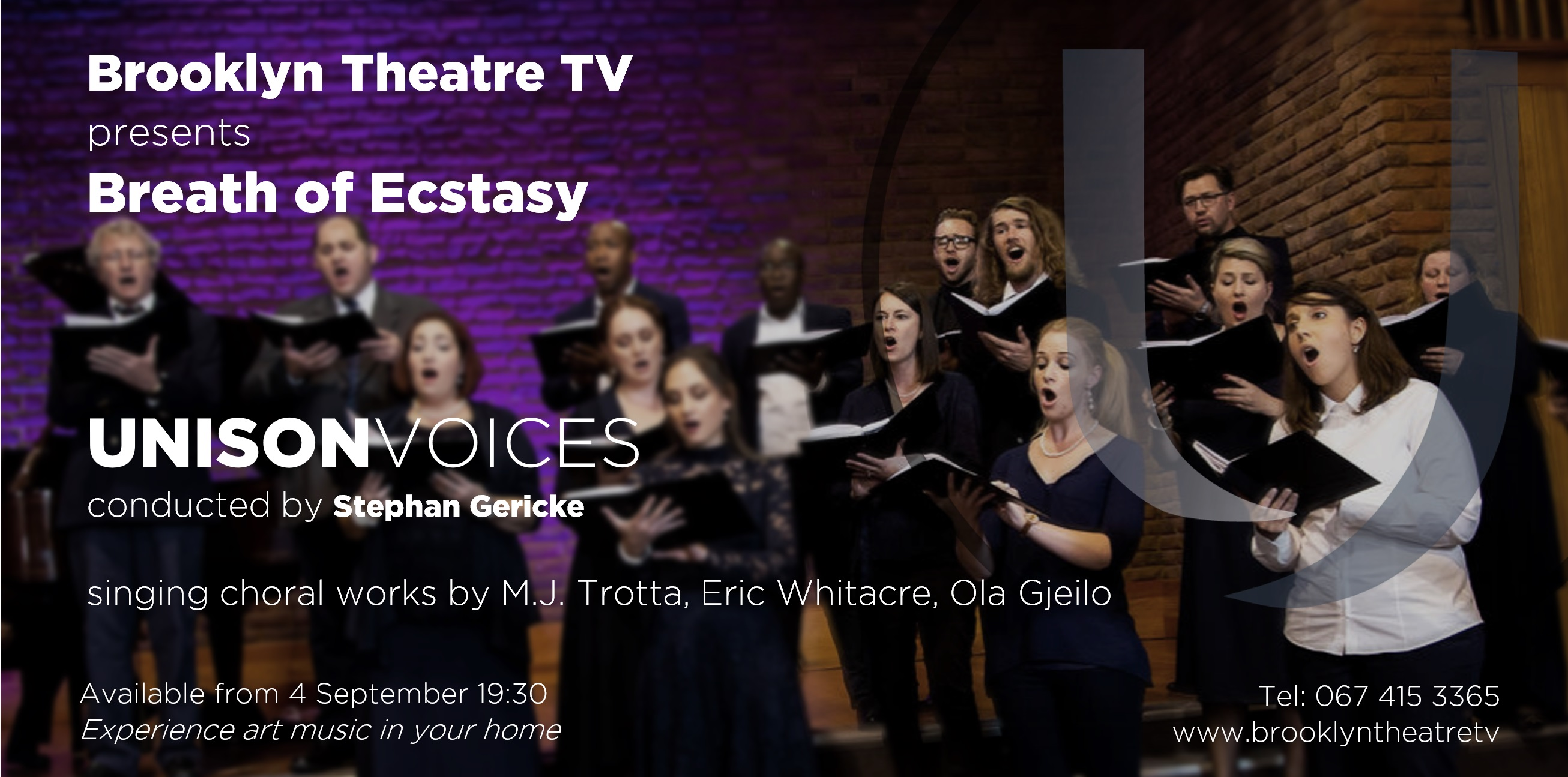 Unison Voices - Breath of Ecstasy Thumbnail Image