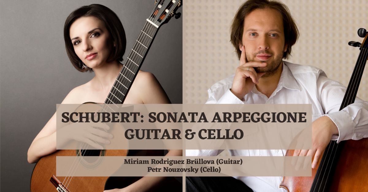 SCHUBERT SONATA ARPEGGIONE. Guitar and Cello.  Thumbnail Image